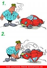 Lustige cartoons rund ums kfz ajilbabcom portal picture