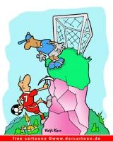 Fussball Cartoon kostenlos - Witze und Cartoons über Fussball