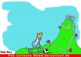 Fussball Cartoons gratis - Fussballwitz