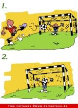 Fussball Cartoons kostenlos - Lustige Fussball Sprüche