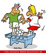 Fussball Karikatur kostenlos - Fussball Witze kostenlos