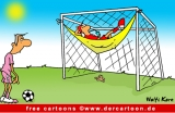 Torwart Cartoon free - Fussball WM Cartoon - Witze Fussball