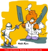 Gratis Sport Cartoon Fechten