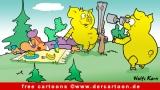 Jagd Cartoon free