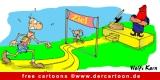 Ziel Cartoon free - Sport Cartoons free