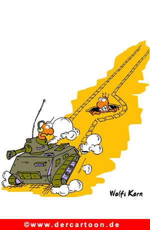 Panzer Cartoon - Lustige Bilder, Cartoons kostenlos