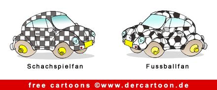 Autos Karikatur kostenlos - Lustige Bilder, Cartoons kostenlos