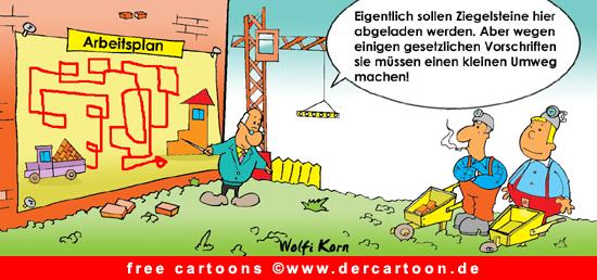 Baustelle Cartoon free - Lustige Bilder, Cartoons kostenlos