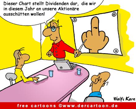 Cartoon Bank und Finanzkrise - Lustige Bilder, Cartoons kostenlos