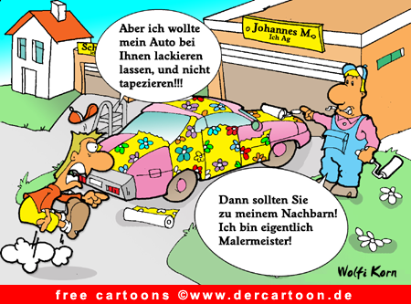 Ich AG Cartoon kostenlos - Lustige Bilder, Cartoons kostenlos