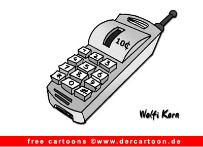 Telefon Cartoon gratis - Lustige Bilder, Cartoons kostenlos