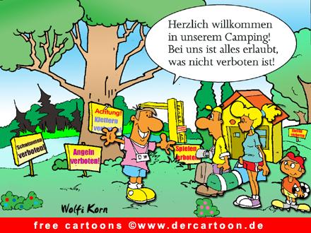 Camping Cartoon free - Lustige Bilder, Cartoons kostenlos
