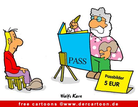 Pass Cartoon - Lustige Bilder, Cartoons kostenlos