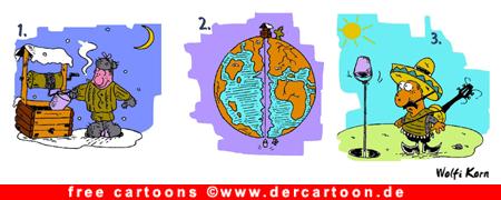 Russland - Mexiko Cartoon kostenlos - Lustige Bilder, Cartoons kostenlos