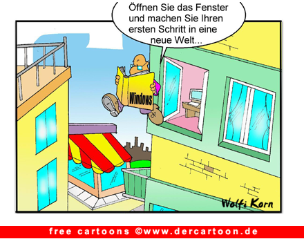 Windows Cartoon gratis - Lustige Bilder, Cartoons kostenlos