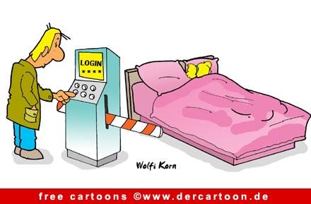 Bett Cartoon Free
