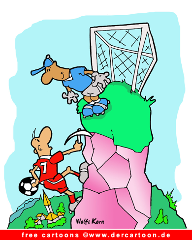Fussball Cartoon kostenlos - Witze und Cartoons über Fussball - Lustige Bilder, Cartoons kostenlos