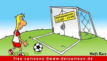 Soccer Cartoon free - Fussballwitze - Lustige Bilder, Cartoons kostenlos