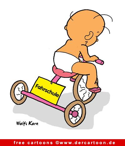 Fahrschule Cartoon kostenlos - Lustige Bilder, Cartoons kostenlos