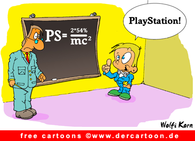 PlayStation Cartoon free - Lustige Bilder, Cartoons kostenlos