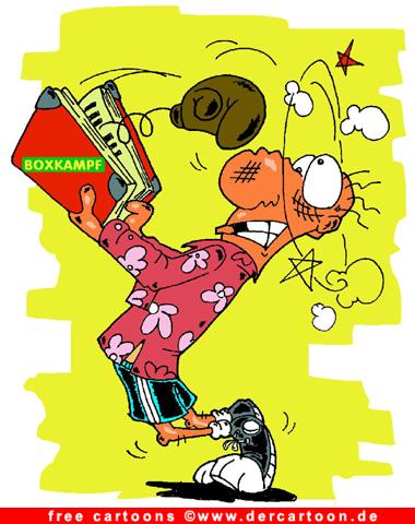 Boxen - Sport Cartoons kostenlos - Lustige Bilder, Cartoons kostenlos