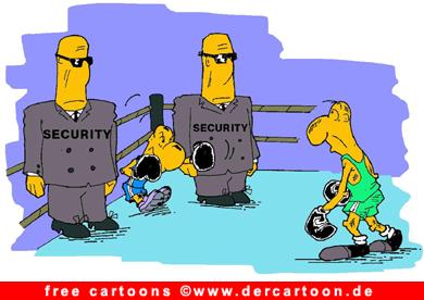 Security Cartoon - Lustige Bilder, Cartoons kostenlos