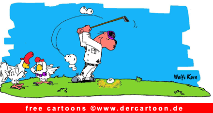 Golf Cartoon free - Lustige Bilder, Cartoons kostenlos