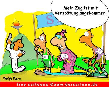 Ski Cartoon free - Lustige Bilder, Cartoons kostenlos