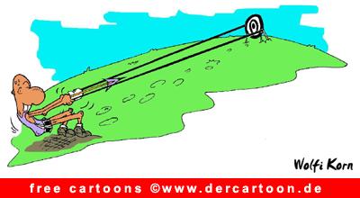 Sport Cartoon free download - Bogenschießen Witze - Lustige Bilder, Cartoons kostenlos