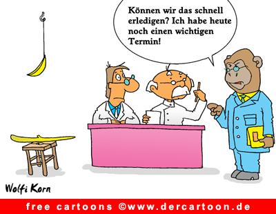 Affe Cartoon gratis - Lustige Bilder, Cartoons kostenlos