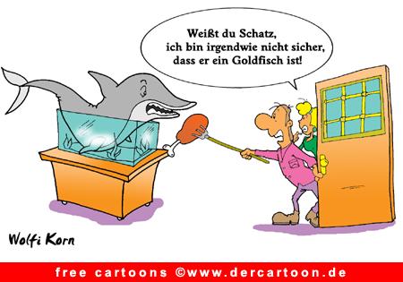 Goldfisch Cartoon PNG - Lustige Bilder, Cartoons kostenlos