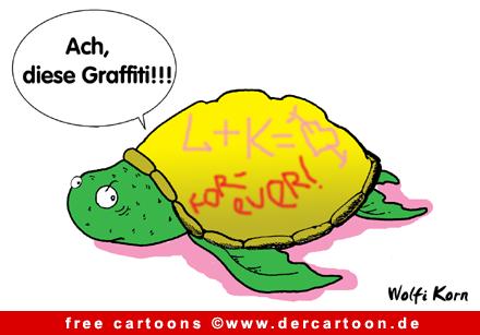 Graffiti Cartoon free - Lustige Bilder, Cartoons kostenlos