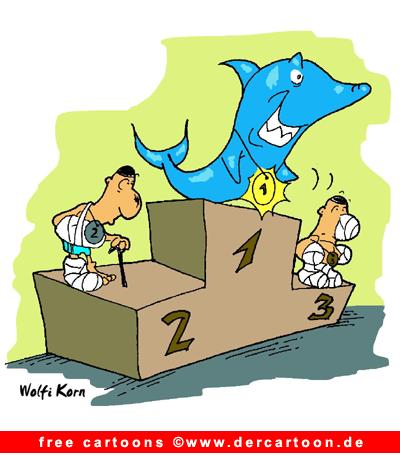 Hai Cartoon free - Lustige Bilder, Cartoons kostenlos