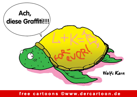 Schildkroete Cartoon kostenlos - Lustige Bilder, Cartoons kostenlos