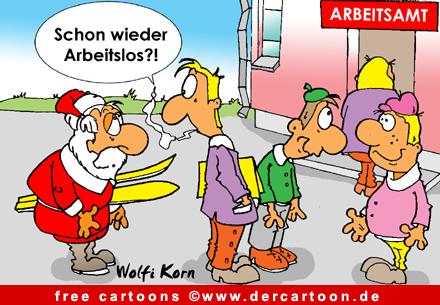 Santa Claus Cartoon free - Lustige Bilder, Cartoons kostenlos