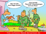 Bundeswehr Cartoon gratis
