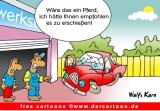 Autounfall Cartoon kostenlos