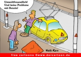 Free Cartoons Autos - Elektroauto