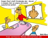 Cartoon Bank und Finanzkrise