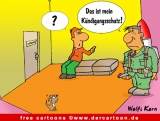 Kuendigungsschutz - Office Cartoons free