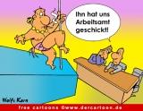 Striptease Cartoon-Bild kostenlos