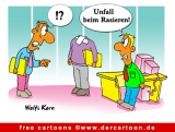 Unfall Cartoon - Cartoons fuer Buero