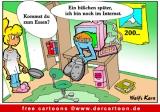 Internet Karikatur kostenlos