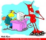 Teufel Cartoon kostenlos