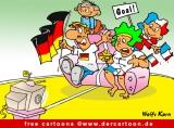 Fussballmeisterschaft Cartoon kostenlos