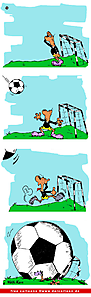 Fussball Comic gratis