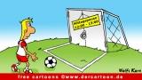 Soccer Cartoon free - Fussballwitze