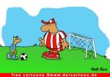 Soccer Cartoon kostenlos