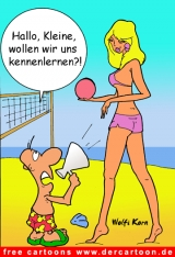 Sex Cartoon Hallo Kleine!