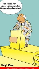Politik Karikatur kostenlos